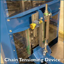 Spirals Conveyor Chain Tensioning